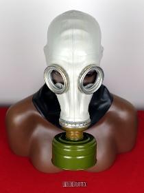 russische Gasmaske GP-5 grau