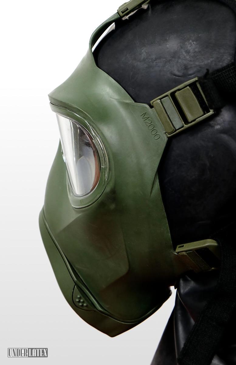 deutsche Gasmaske M2000 Bundeswehr