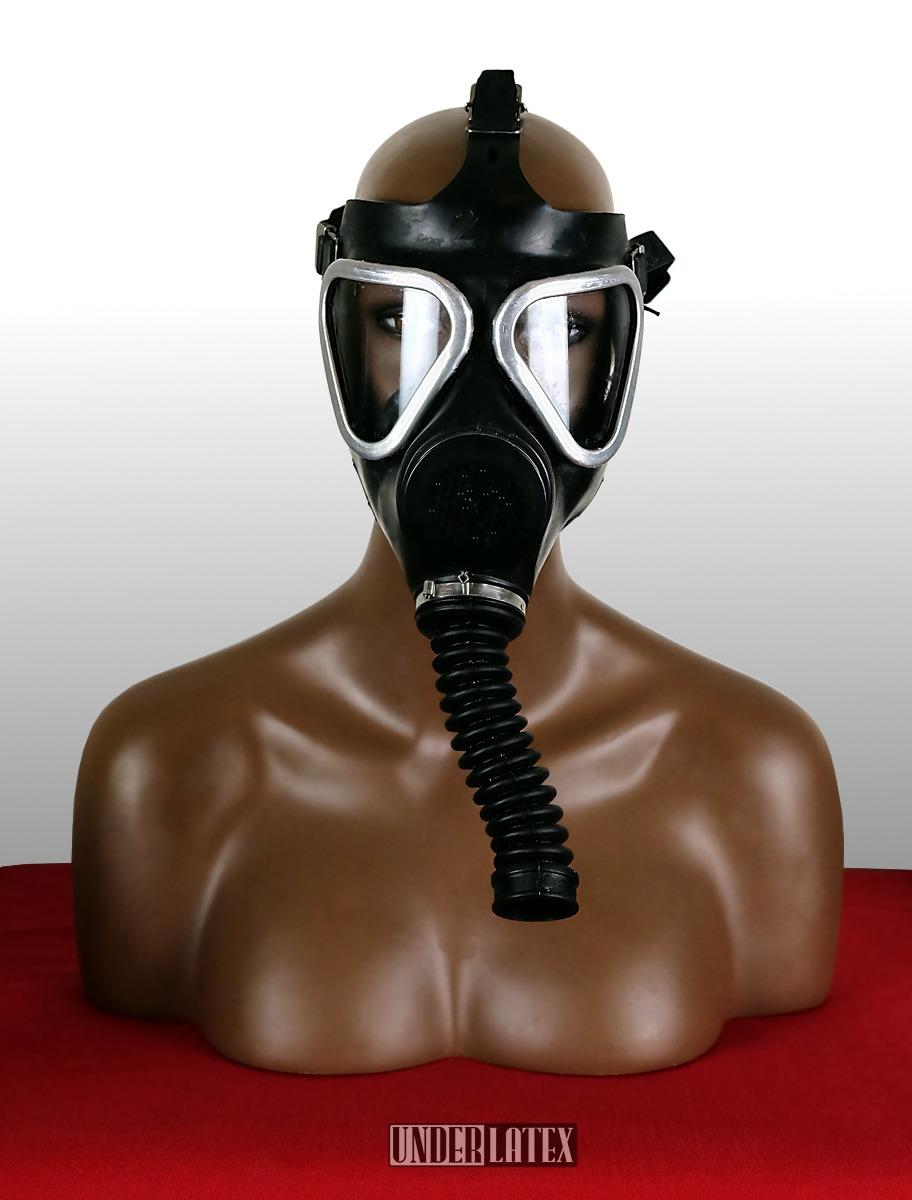 Auer SAR_30 Selbstretter Gasmaske schwarz von vorn