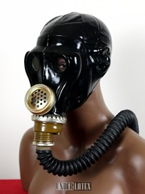 Russische Gasmaske SchMS schwarz