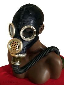 Russische Gasmaske GP-5M schwarz